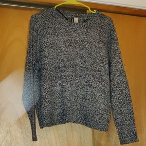 H&M salt and pepper sweater